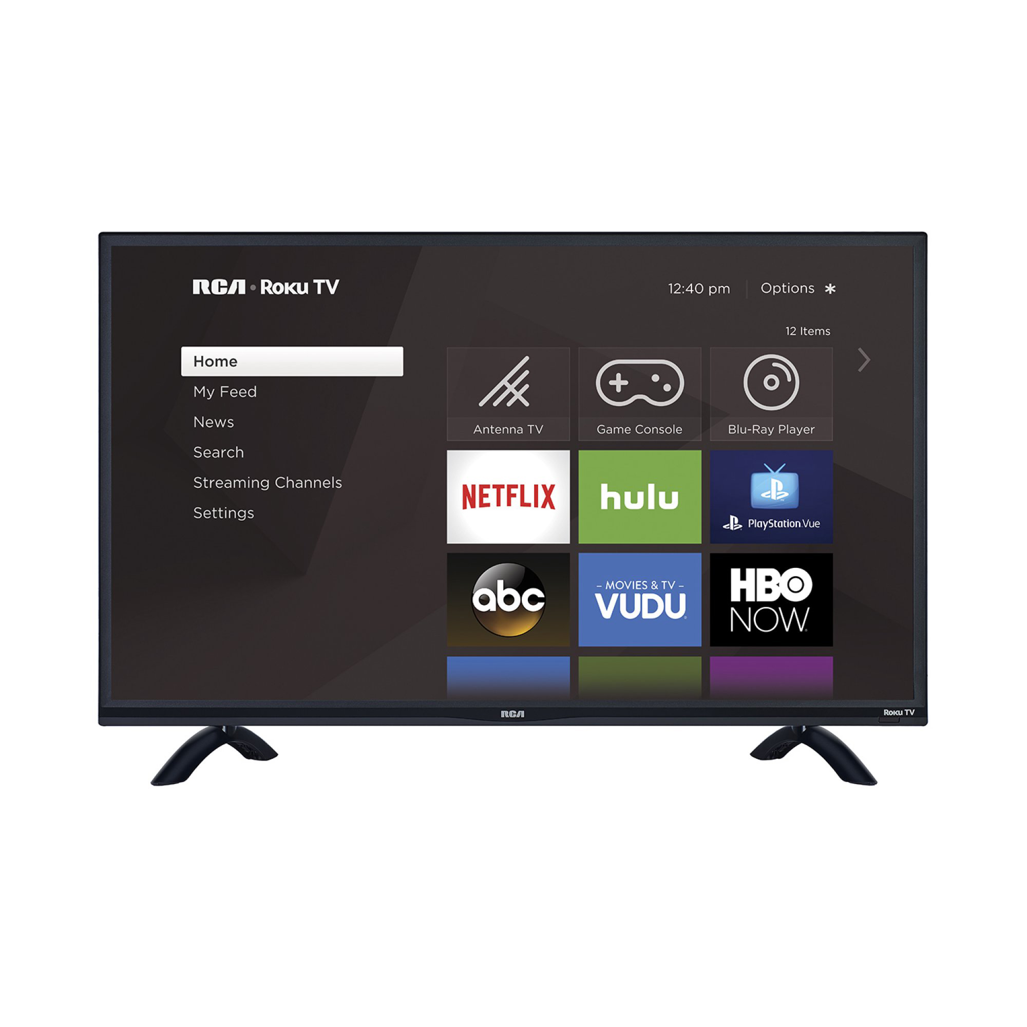 "RCA 55"" Class 4K (2160P) Roku Smart HDR LED TV (RTRU5527-W)"