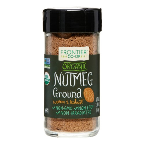 Frontier Ground Nutmeg, Certified Organic, 1.9 Oz by Lucy's