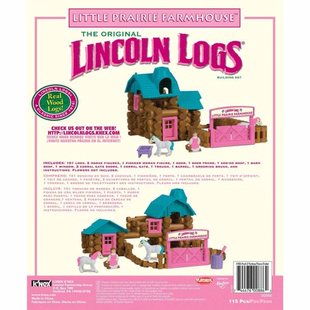 Lincoln Logs Little Prairie Farmhouse