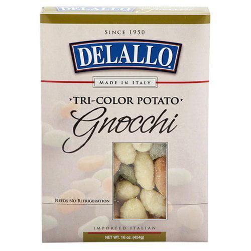 DeLallo Gnocchi Tri-Color Potato, 16 oz