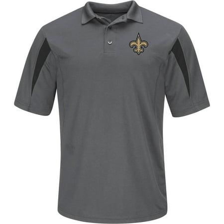 NFL New Orleans Saints Big Men's Basic Polo