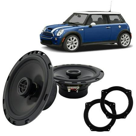 Fits Mini Cooper 2002-2006 Front Door Replacement Harmony HA-R65 Speakers New