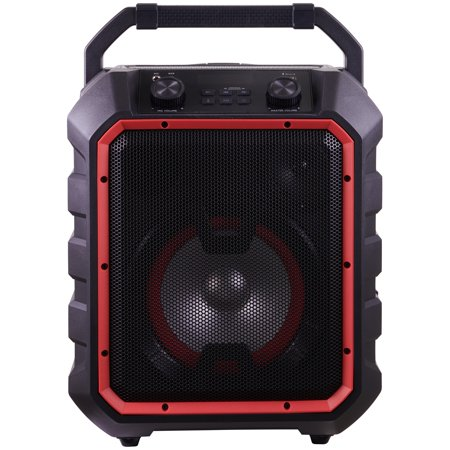 Blackweb Portable Bluetooth Party Speaker, Black