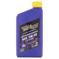 Royal Purple Synthetic SAE 5W-20 High Performance Motor Oil, 1 Quart