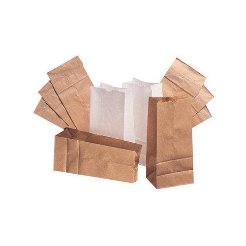 General 20 Kraft Paper Bag in Brown with 500 Per Bundle (Set of 2)