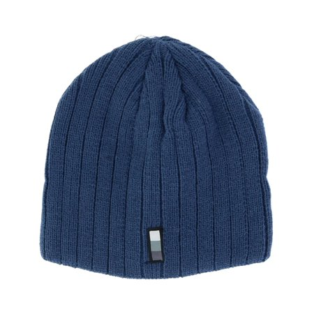 Size  one size Men's Acrylic Knit Ribbed Beanie Pull Cap