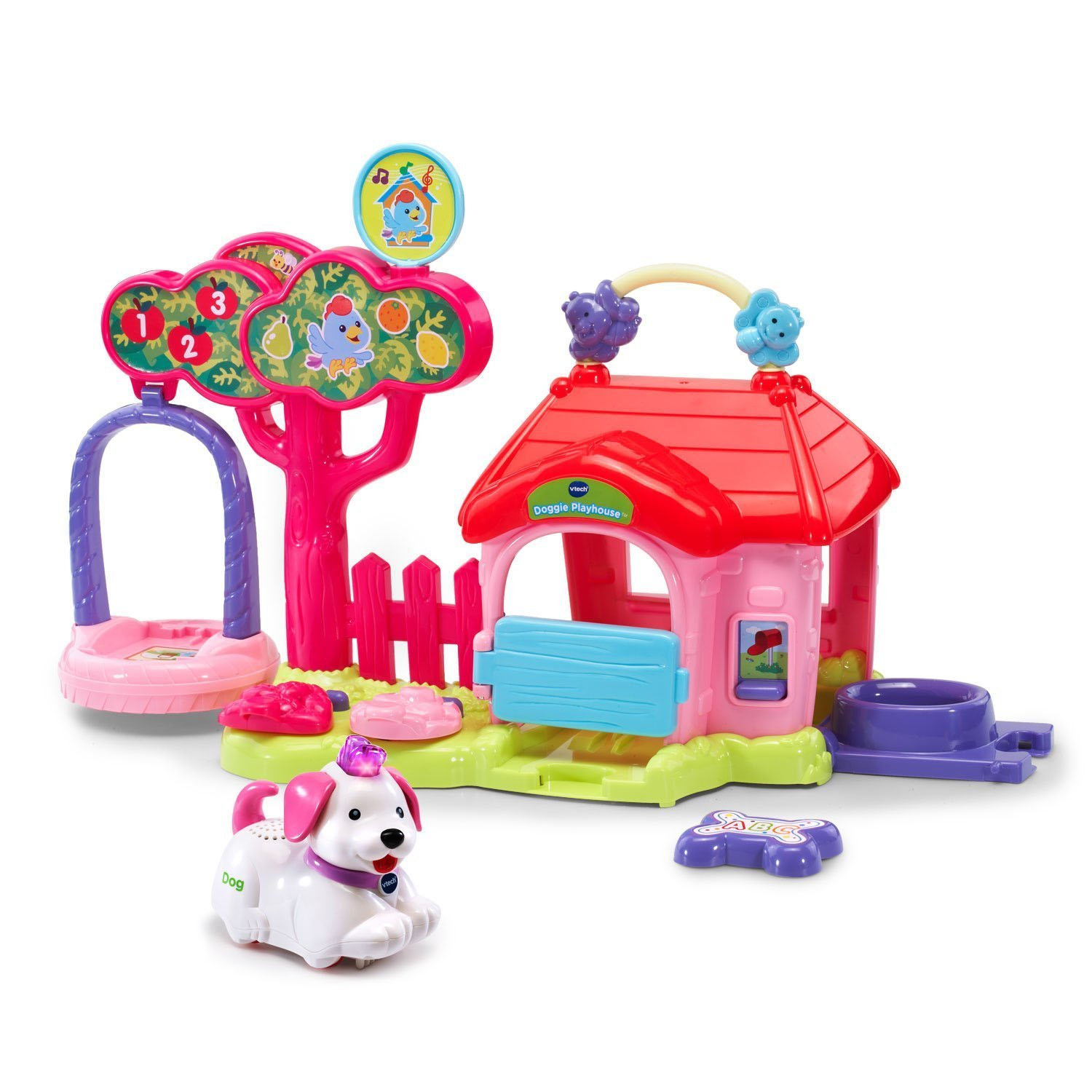 Go! Go! Smart Animals Doggie Playhouse Pink Online Special Edition, Explore this online... by