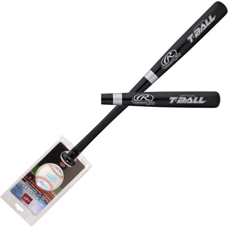 Rawlings Baseball Wood Bat and Ball Combo Set WBTBC for $<!---->