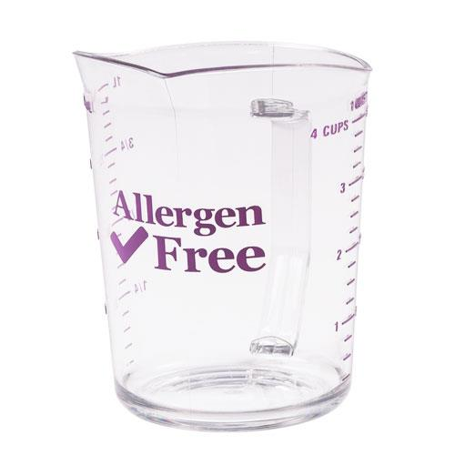 Cambro - 400MCCW441 - 4 qt Allergen Free Measuring Cup