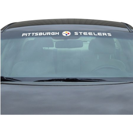 NFL Pittsburgh Steelers Windshield Decal - Steelers Stickers