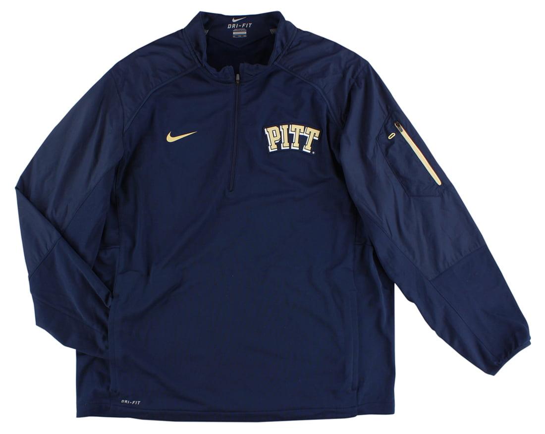 Nike Mens Pittsburgh Panthers Hybrid Jacket Navy Blue XXL by Nike