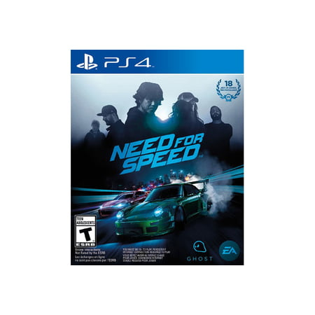 Need For Speed  Electronic Arts  Playstation 4  014633368611