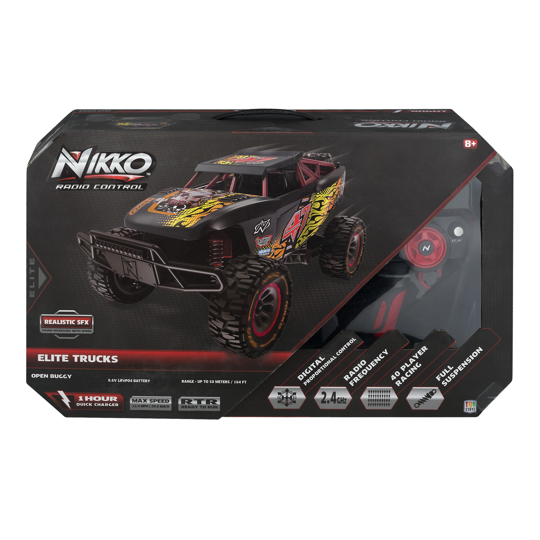 Nikko Elite Trucks Open Buggy R/C, 1.0 CT