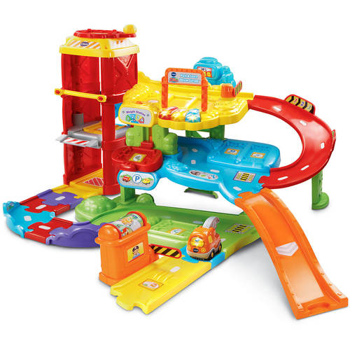 VTech Go! Go! Smart Wheels Park & Play Deluxe Garage