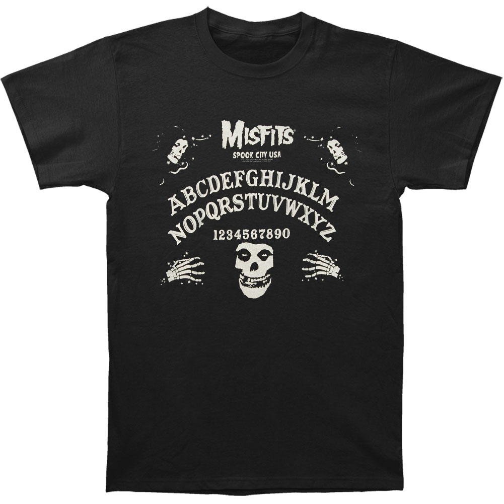 Misfits Men's  Ouija Board T-shirt Black