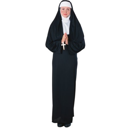 Nun Adult Costume One-Size - Halloween Costume Nun