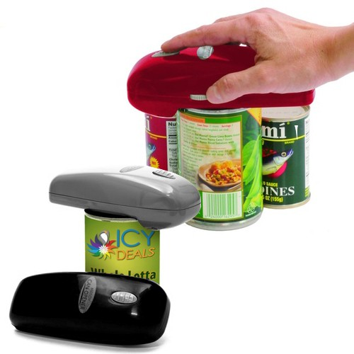 As Seen On TV: Hands-Free Automatic Handy Can Opener