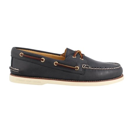 Sperry Gold Shoes (Sperry STS15803: Gold Cup Authentic Original Mens Navy Multi Boat Shoes )