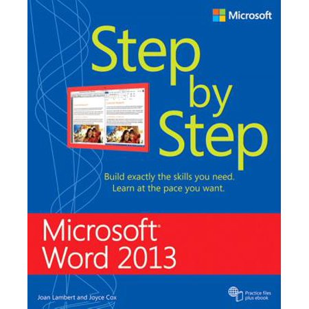 Microsoft Word 2013 Step by Step (Best Alternative Microsoft Word)