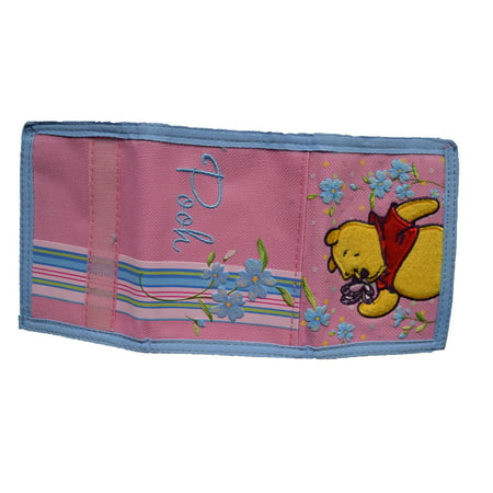 Pooh Wallet - Winnie the Pooh & Butterfly Tri-fold wallet