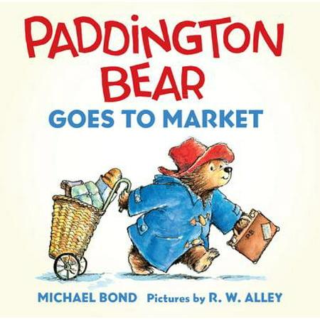 Bear Stock Market Bookends - Paddington Bear Goes to Market (Board Book)
