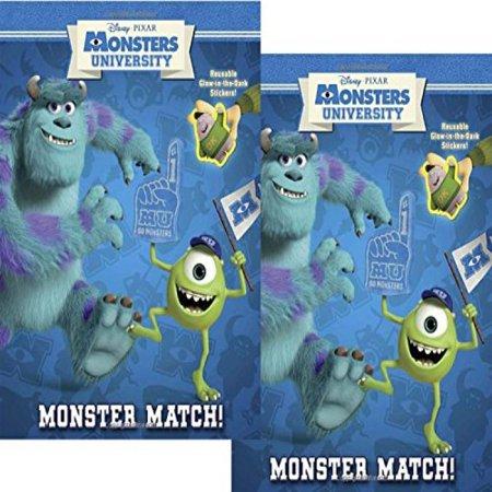 Monsters University Reusable Glow in the Dark Sticker Book