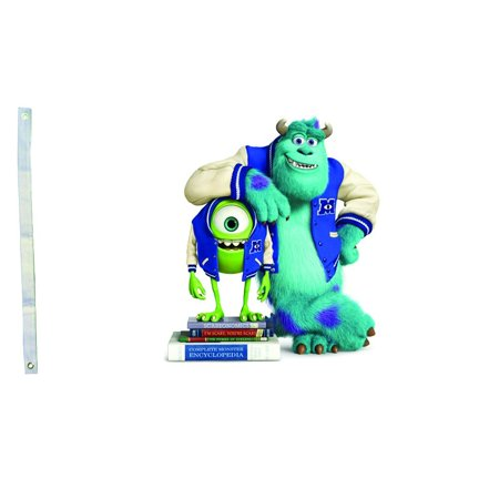 DEYOU Monsters University Mike Sulley Flag 3x5 Feet Banner Flag