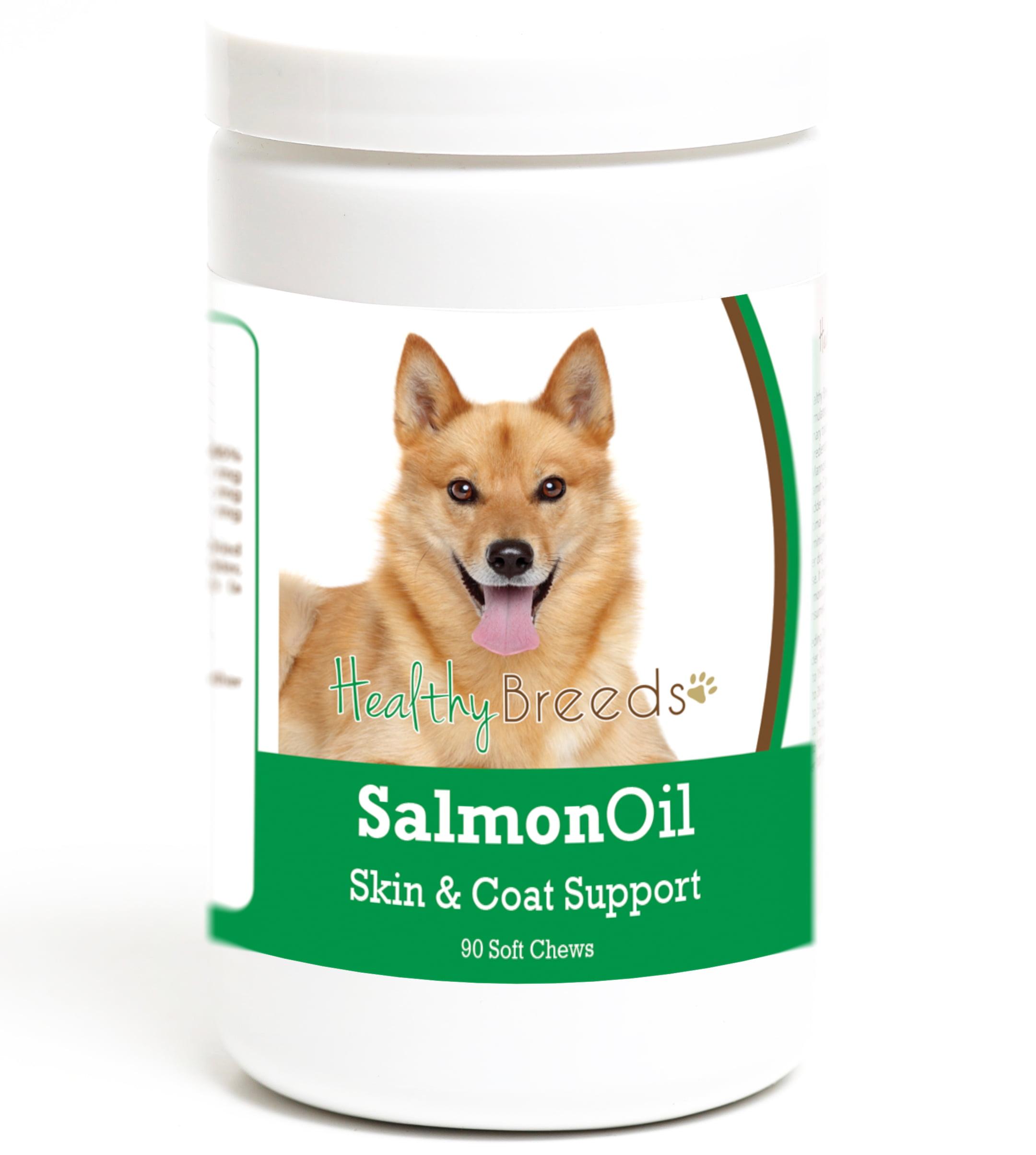 Healthy Breeds Finnish Spitz Salmon Oil Soft Chews 90 Count