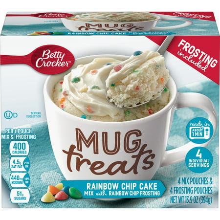 (6 Pack) Betty Crocker Mug Treats Rainbow Chip