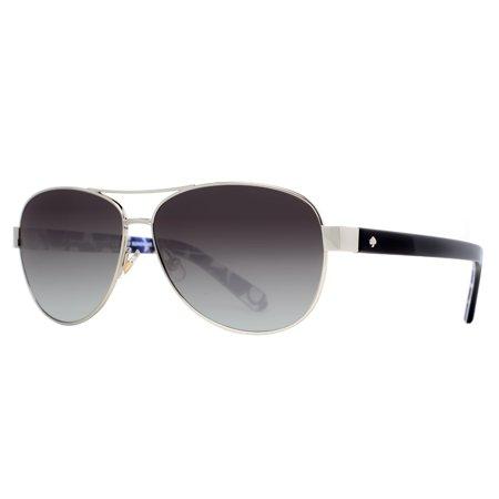 43606c6d6864 Kate Spade New York - Kate Spade New York DALIA2/S 0YB7 F8 Silver/Dots  Women's Aviator Sunglasses - Walmart.com
