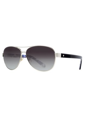 6162d09dc3cb Product Image Kate Spade New York DALIA2 S 0YB7 F8 Silver Dots Women s  Aviator Sunglasses