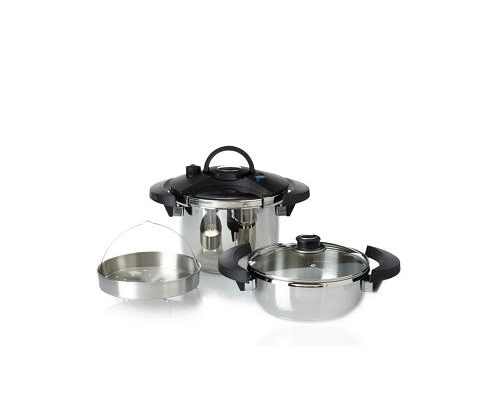 BergHOFF Eclipse 5pc Pressure Cooker Set by BergHOFF