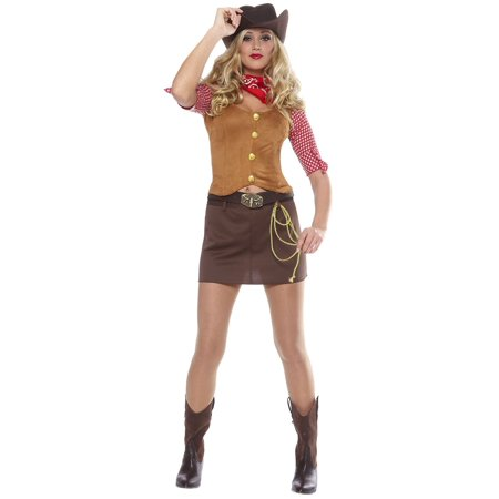 Gunslinger Women's Sexy Cowgirl (Women's Gunslinger Costume)
