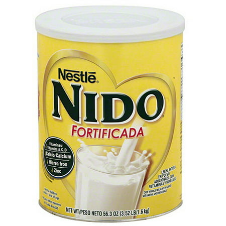Whole Milk Ricotta ((Pack of 6) Nido Fortificada Whole Milk Powder w/ Added Vitamins and Minerals, 56.3 oz)