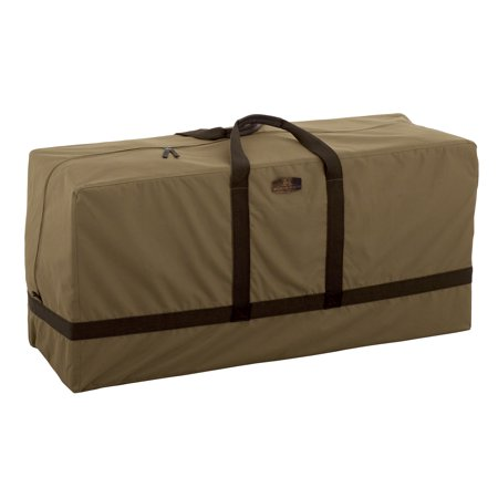 Classic Accessories Hickory® Heavy-Duty Patio Cushion & Cover Storage Bag - Rugged Outdoor Storage with Advanced Weather Protection (55-211-012401-EC) ()