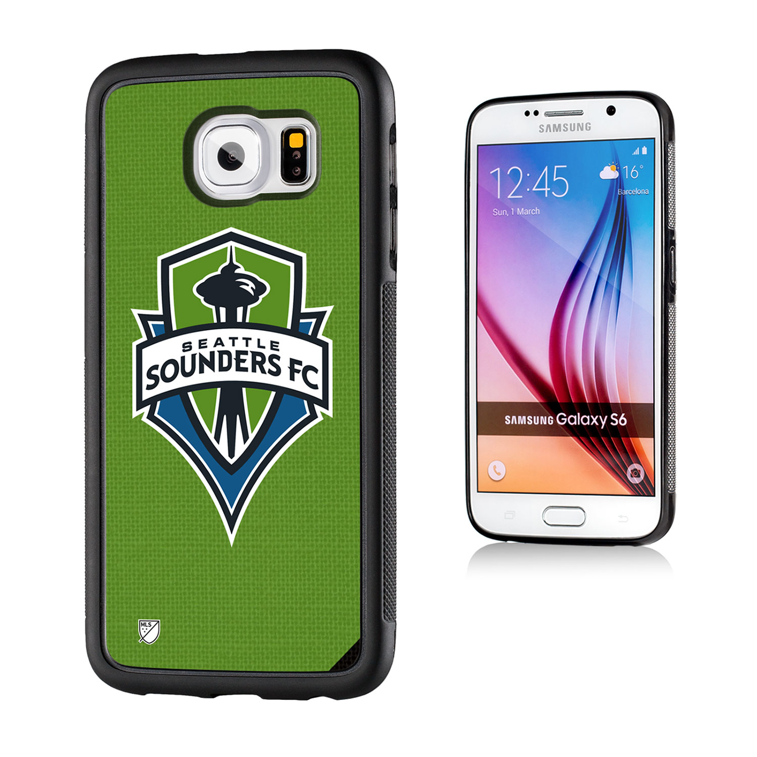 Seattle Sounders Solid Galaxy S6 Bumper Case
