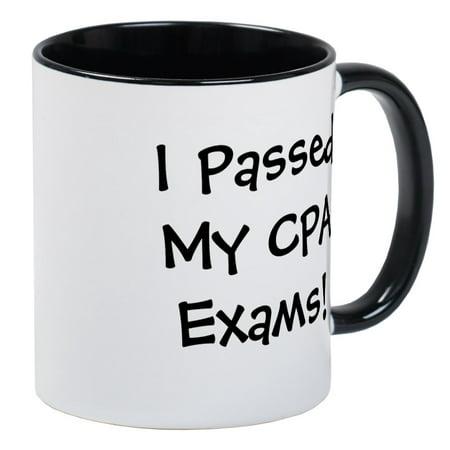 CafePress - Passed CPA Exams Success Celebration Mug - Unique Coffee Mug, Coffee Cup CafePress