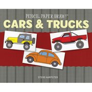 Sterling Publishing Pencil, Paper, Draw! Cars and Trucks