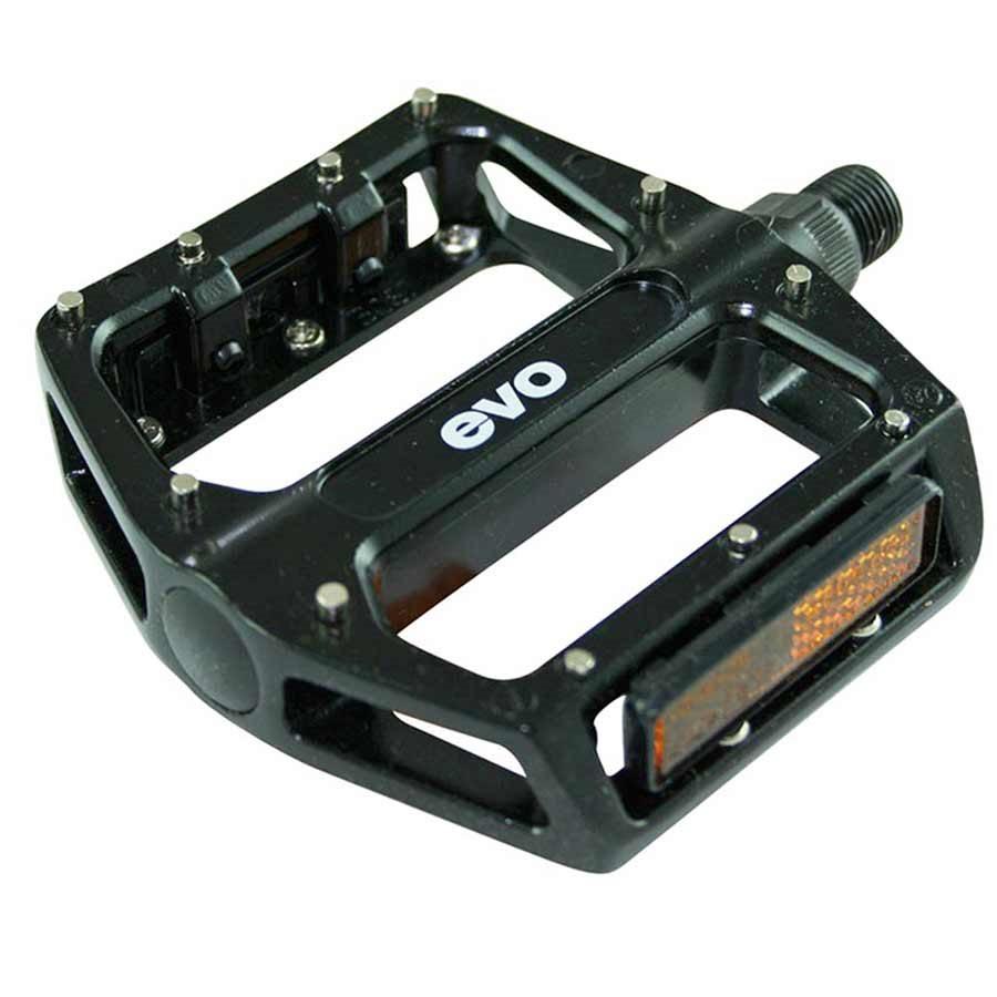 EVO, MX-6, Platform pedals, Removable pins, White