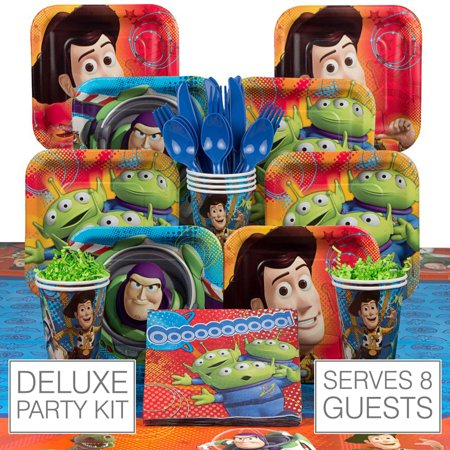 Toy Story Deluxe Kit (Serves 8) - Party Supplies for $<!---->