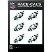 Philadelphia Eagles 6-Pack Mini-Cals Face Decals