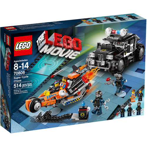 LEGO Movie Super Cycle Chase Play Set