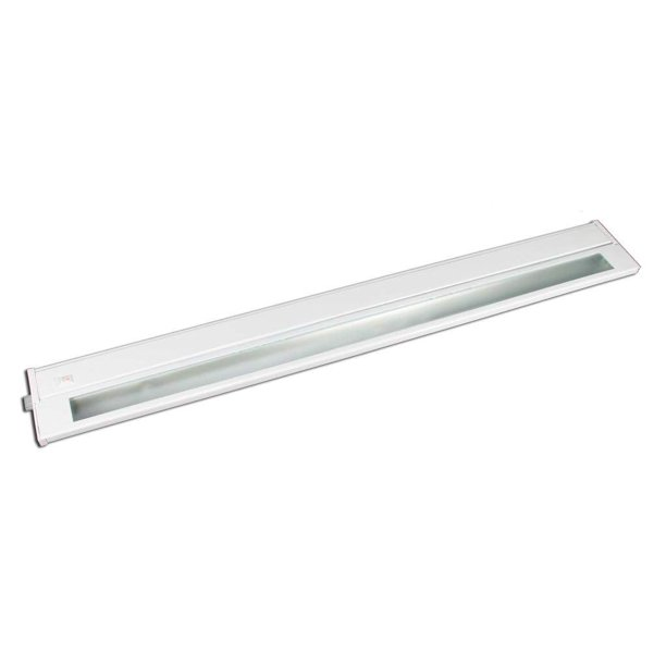 American Lighting 43133 White 22 3 Light 60 Watt 2700k Hardwire Priori Xenon Under Cabinet Light Fixture 043x 3 Wh Walmart Com Walmart Com