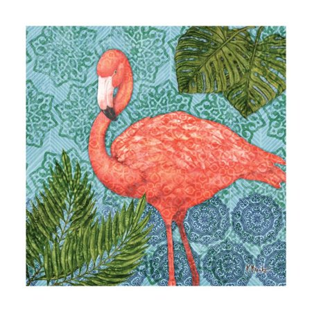 Bahama Flamingo II Print Wall Art By Paul Brent ()