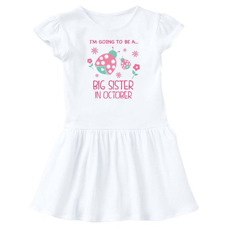 October Fest Dress (I'm Gonna Be a Sister in October with Ladybugs Infant)
