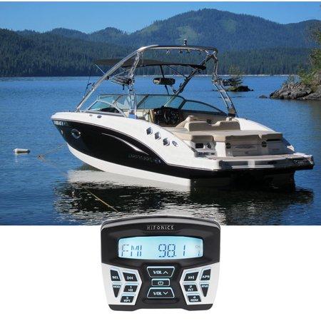 Hifonics TPS-MR1 Marine Gauge Hole Mount Bluetooth Receiver Radio Stereo 4 Boat American Accessories 4 Gauge