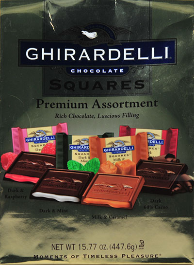 Ghirardelli Chocolate Squares Premium Assortment, 15.77 oz by Ghirardelli Chocolate Co.