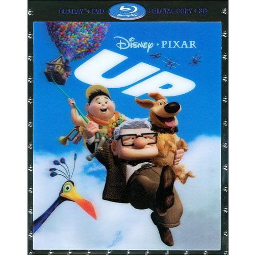Up (3D Blu-ray + 2-Disc Blu-ray + DVD) (Widescreen)