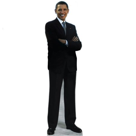 44th President Of The U.S. Barack Obama Standup Standee Cardboard Cutout Poster