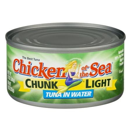 Chicken of the Sea Chunk Light Tuna in Water, 12.0 OZ